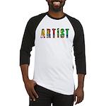 Artist-paint splatter Baseball Jersey