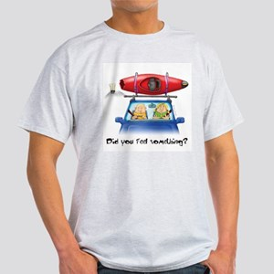 Kayak Capers Ash Grey T-Shirt