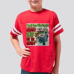 3-DontCareFatso Youth Football Shirt