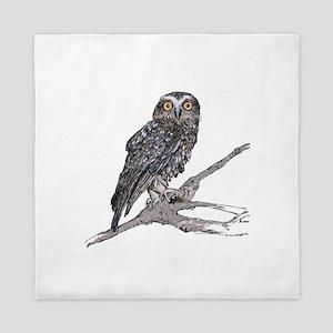 Boobook Owl Queen Duvet