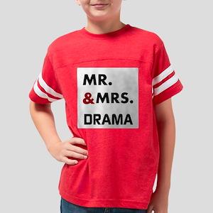 OYOOS Mr. & Mrs. Drama design Youth Football Shirt