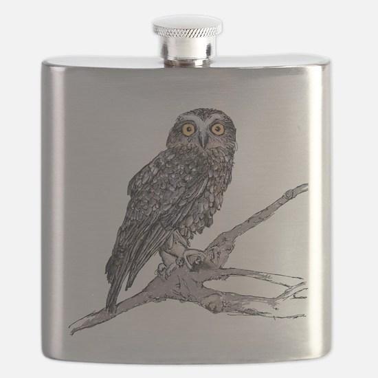 Boobook Owl Flask