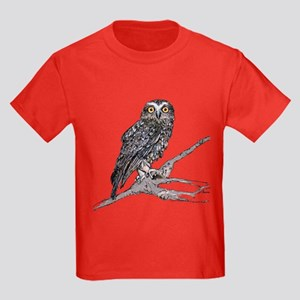 Boobook Owl Kids Dark T-Shirt