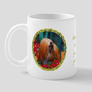 Lhasa Apso Christmas Tygerlily Mug