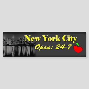 NYC 24-7 Bumper Sticker