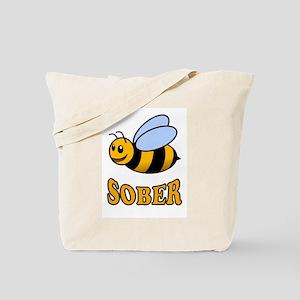 BEE SOBER Tote Bag