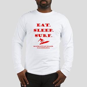 Manhattan Beach, California: Long Sleeve T-Shirt