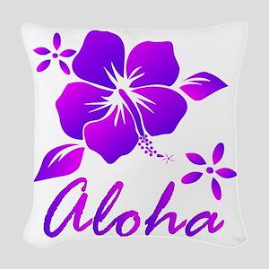 Aloha Woven Throw Pillow
