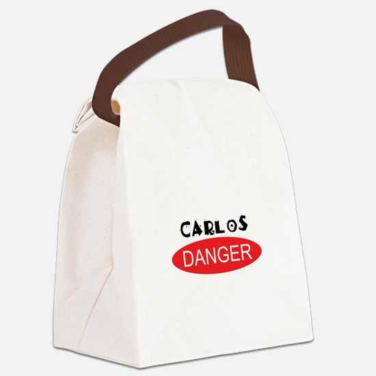 Carlos Danger - Anthony Weiner Canvas Lunch Bag