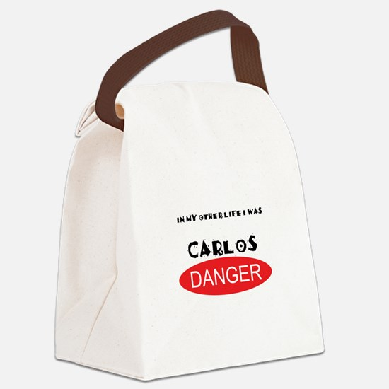 In My Other Life I Was Carlos Danger Canvas Lunch