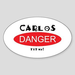 Carlos Danger Txt Me Sticker