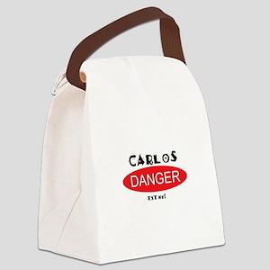 Carlos Danger Txt Me Canvas Lunch Bag