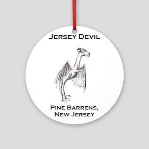 Jersey Devil Pine Barrens New Jersey Round Ornamen