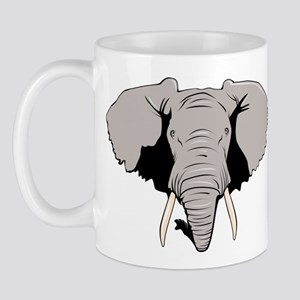 Elephant Right-handed Mug