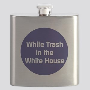 White trash in the White House Flask