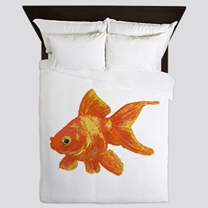 Goldfish Queen Duvet