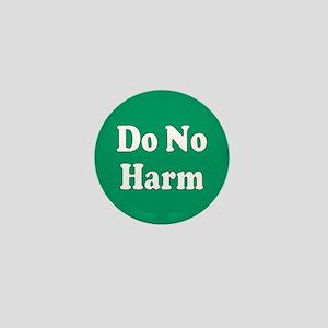 no harm... Mini Button