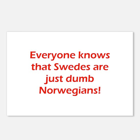 Swedes Postcards (Package of 8)