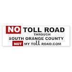 No Toll Road Through South Orange County Bumper St