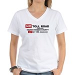 No Toll Road Through South Orange County T-Shirt