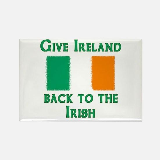 Give Ireland Back Rectangle Magnet