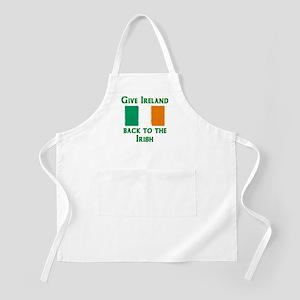 Give Ireland Back BBQ Apron