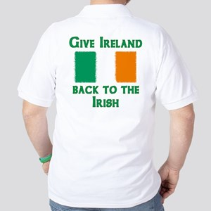 Give Ireland Back Golf Shirt