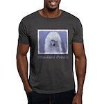 Standard Poodle (White) Dark T-Shirt