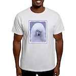 Standard Poodle (White) Light T-Shirt