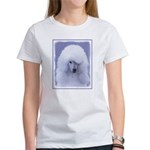 Standard Poodle (Whi Women's Classic White T-Shirt