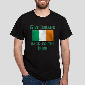 Give Ireland Back to the Irish Black T-Shirt