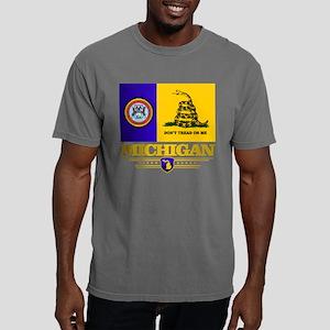 Michigan Dtom Mens Comfort Colors Shirt