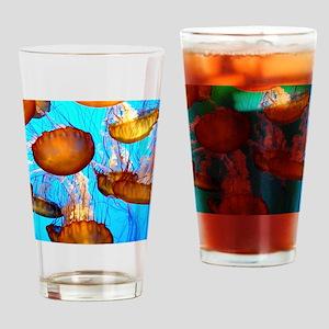 jellyfish madness Drinking Glass