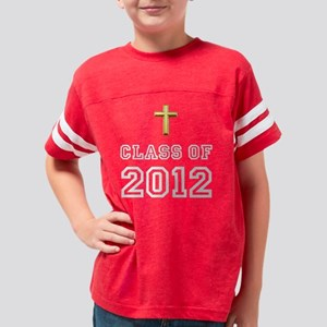 Class Of 2012 Cross White Youth Football Shirt