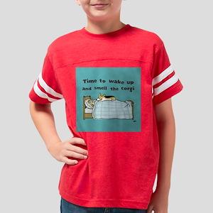wakeuptile Youth Football Shirt