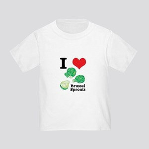 I Heart (Love) Brussel Sprouts Toddler T-Sh