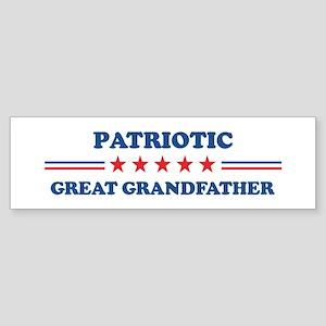 Great Grandfather: Patriotic Bumper Sticker