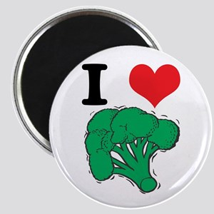 I Love (Heart) Broccoli Magnet