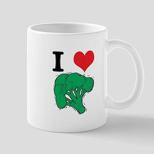 I Love (Heart) Broccoli Mug