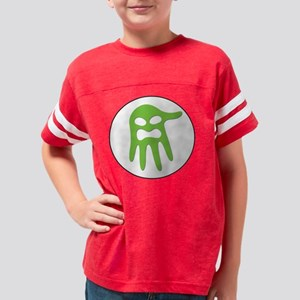 Ghost Grip - Circle Logo Drop Youth Football Shirt
