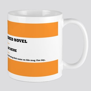 My great unfinished novel Mug