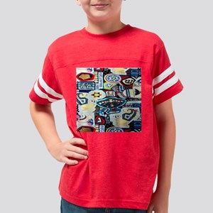 a ch collage 2 Youth Football Shirt
