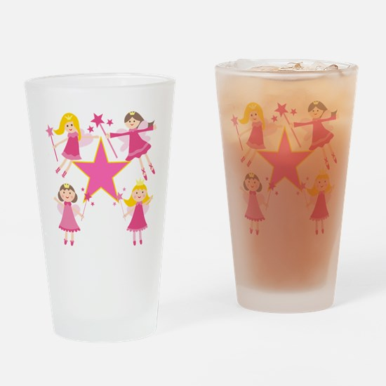 Fairy Princesses Drinking Glass