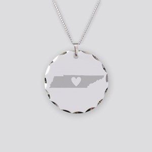 Heart Tennessee Necklace Circle Charm