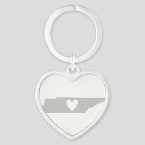 Heart Tennessee Heart Keychain