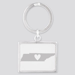 Heart Tennessee Landscape Keychain