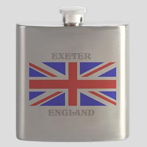 Exeter England Flask