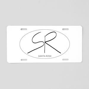 Santa Rosa in Oval Aluminum License Plate