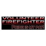 Volunteer Firefighter Bumper Sticker