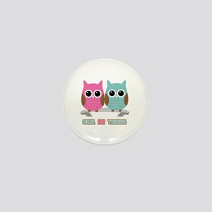 Owl Be Yours Mini Button